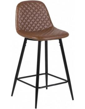 Barová stolička Wilma hnedá