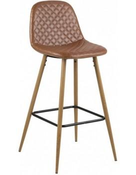 Barová stolička Wilma hnedá 3