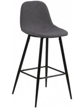 Barová stolička Wilma II sivá
