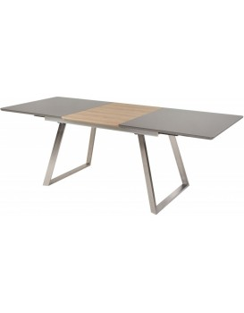 Rozkládací stůl Revido 160-220x90 cm šedý