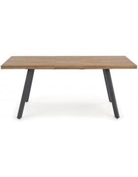 Rozkládací stůl Capitol 140 cm hnědý