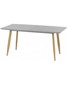 Rozkládací stůl Inspire 160-200x90 cm šedý