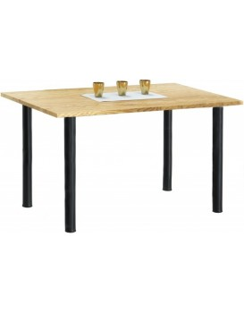 Jídelní stůl Marin 120x80 cm hnědý