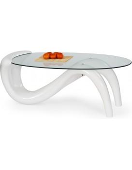 Konferenční stolek Rina bílý