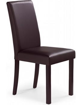 Jídelní židle Kan tmavě hnědá