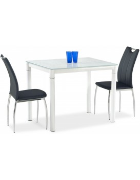 Jídelní stůl Argus mléčný/bílý