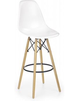 Barová stolička Ivy7 biela