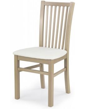 Jídelní židle Janet dub sonoma/bílá