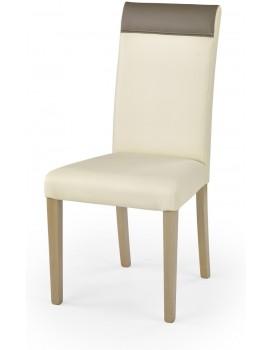 Jídelní židle Bero dub sonoma/krémová/béžová