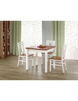 Rozkládací jídelní stůl Gracjan olše/bílá