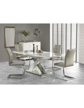 Rozkládací jídelní stůl Dora šedý