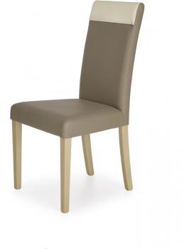 Jídelní židle Bero dub sonoma/béžová/krémová