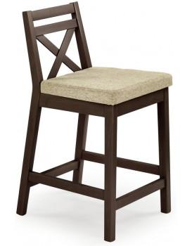 Barová židle Eleven tmavý ořech