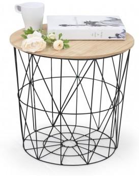 Konferenční stolek Marfel přírodní dřevo
