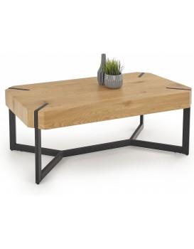 Konferenční stolek Divo dub zlatý /černý