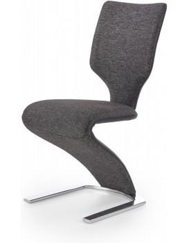 Jídelní židle Euphorie tmavě šedá/černá