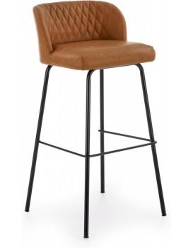 Barová stolička Theo svetlohnedá