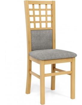 Jídelní židle Gernia dub medový/šedá