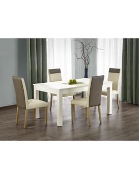 Rozkládací jídelní stůl Severo bílý