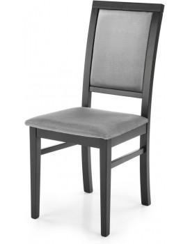 Jídelní židle Kely černá/šedá