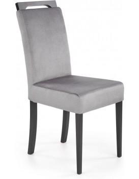 Jídelní židle Clary 2 černá/šedá