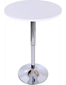 Barový stôl Rumba - biely