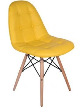 Jedálenská stolička Lyon - žltá
