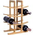 Bambusový stojan na víno