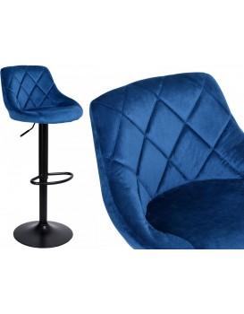 Barová židle Cydro modrá