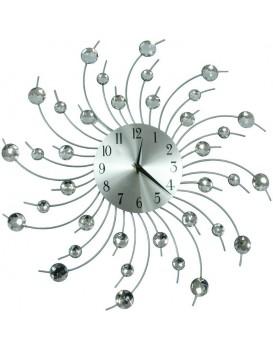 Dizajnové nástenné hodiny Cristal Cloud - 50 cm