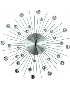 Dizajnové nástenné hodiny Cristal Moon - 50 cm