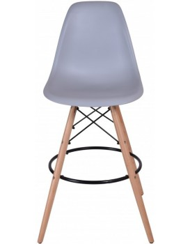 Barová židle Capri - šedá