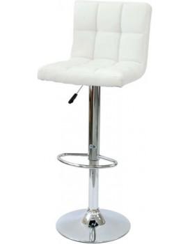 Barová židle Arako - bílá