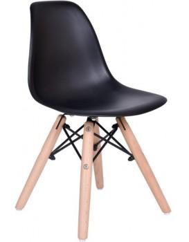 Detská stolička Paris - čierna