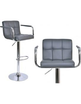 Barová stolička Hoker Monte - šedivá