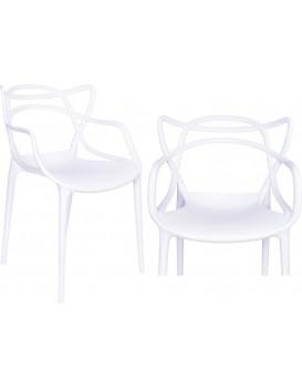 Stolička Lille - biela