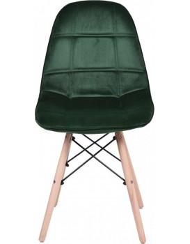 Židle Lyon tmavě zelená