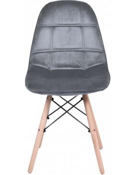 Židle Lyon šedá