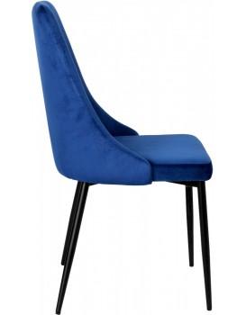 Čalouněná židle LINCOLN námořnická modř