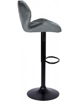 Barová židle Hoker GRAPPO šedá