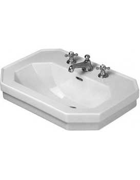 Keramické umyvadlo klasické DURAVIT 1930 SERIES 80x55 cm bílé 0438800000