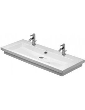 Keramické umývadlo zápustné DURAVIT 2ND FLOOR 120 x 50,5 cm biele 0491120024