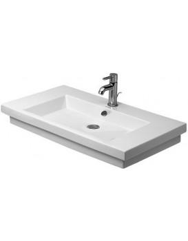 Keramické umyvadlo zápustné DURAVIT 2ND FLOOR  80x50 cm bílé 0491800030