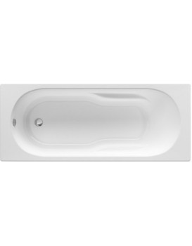 Obdélníková vana ROCA GENOVA N 170x75 cm bílá