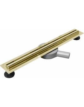 Odtokový žlab Mexen Flat 360 SLIM + sifon 120 cm