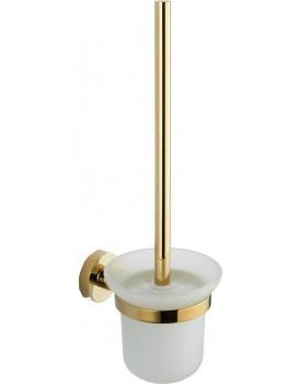 WC kartáč v nádobě MEXEN Remo zlatý