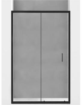 Sprchové dveře MEXEN Apia 105cm černé