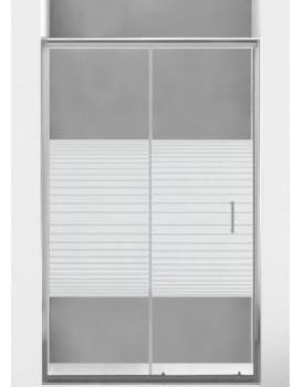 Sprchové dveře MEXEN Apia 115cm stříbrné