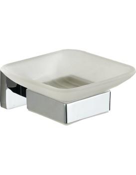 Miska na mýdlo MEXEN ASIS stříbrná
