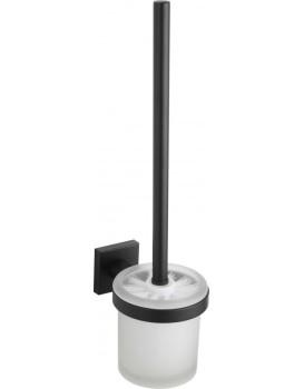 WC kartáč v nádobě MEXEN Rufo černý